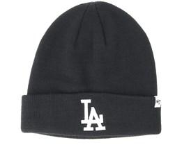 Los Angeles Dodgers Raised Black/White Cuff - 47 Brand