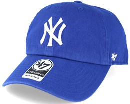 New York Yankees Clean Up Royal Blue Adjustable - 47 Brand