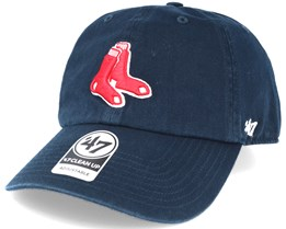 Boston Red Sox 2 Tone Clean Up Navy Adjustable - 47 Brand