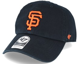 San Francisco Giants 47 Clean Up Black Adjustable - 47 Brand