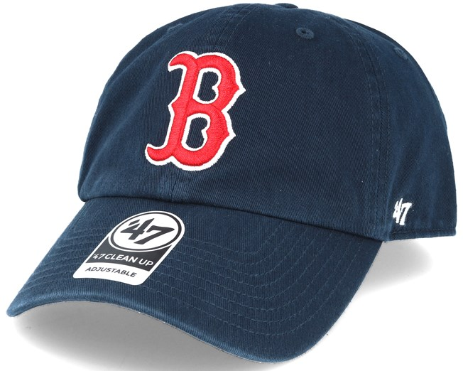 51591cd3716 ... coupon for boston red sox 47 clean up navy adjustable 47 brand caps  hatstore 0b2f8 69215