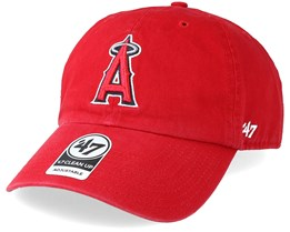 Los Angeles Angels Clean Up Red Adjustable - 47 Brand