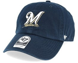 Milwaukee Brewers Clean Up Navy Adjustable - 47 Brand