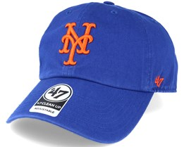 New York Mets `47 Clean Up Royal Blue Adjustable - 47 Brand