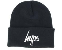 Hype Basic Black/White Beanie - Hype