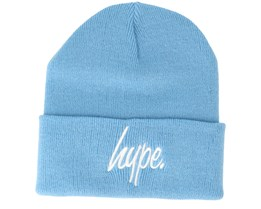 Hype Basic Sky/White Beanie - Hype
