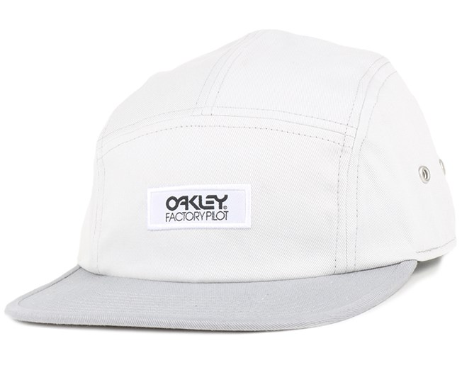 Factory Pilot Crystal Gray 5-Panel - Oakley