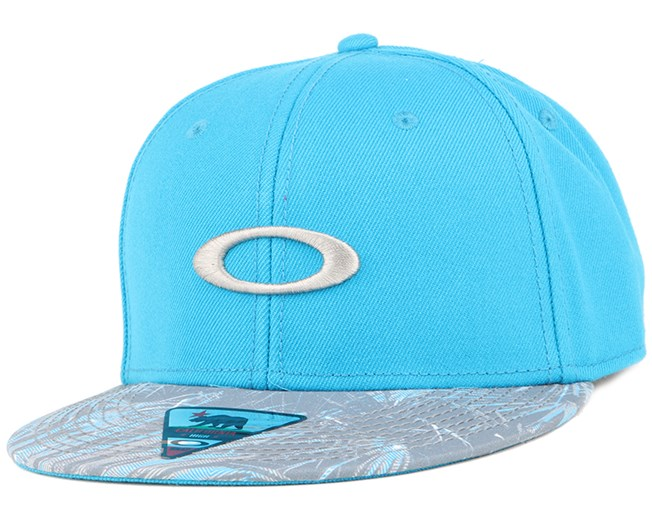 Ellipse Print Pacific Blue Snapback - Oakley