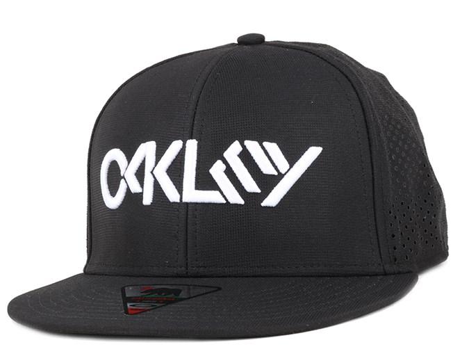 Octane Performance Jet Black Snapback - Oakley