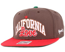 California Brown Snapback - Djinns