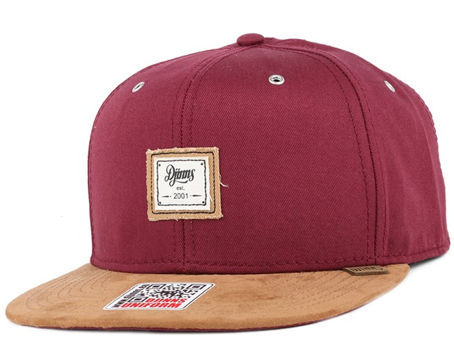 10oz Canvas Wine Snapback - Djinns