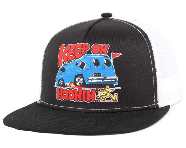 Keep On Hooning Black Trucker - Hoonigan