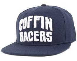 Coffin Racers Navy Snapback - Hoonligan