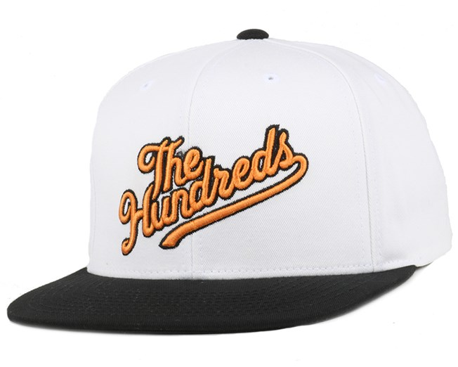 Slant Tail White Snapback - The Hundreds