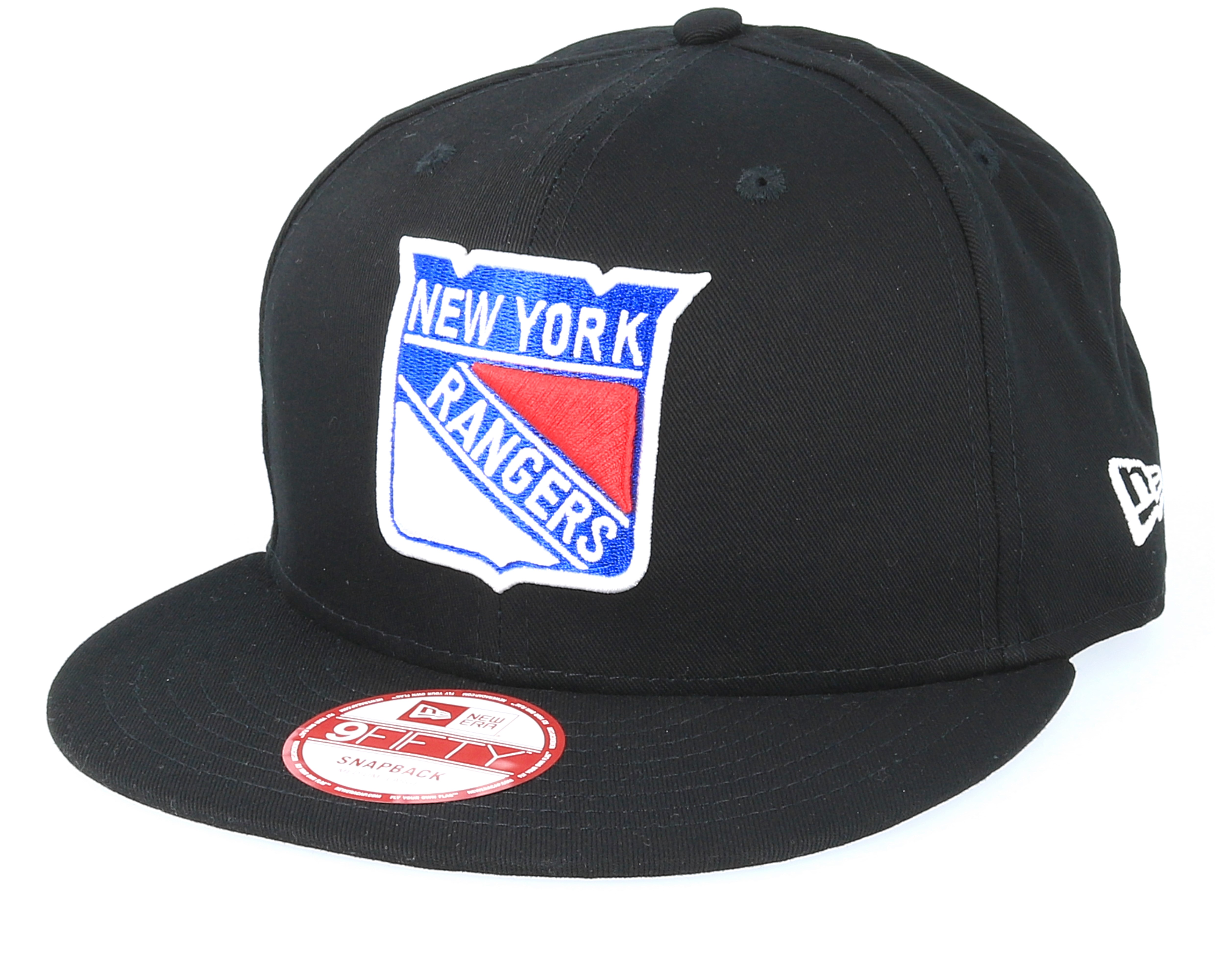 NY Rangers NHL Black Basic 9Fifty Snapback - New Era