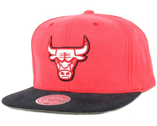 Chicago Bulls Sandy Off White Snapback - Mitchell & Ness