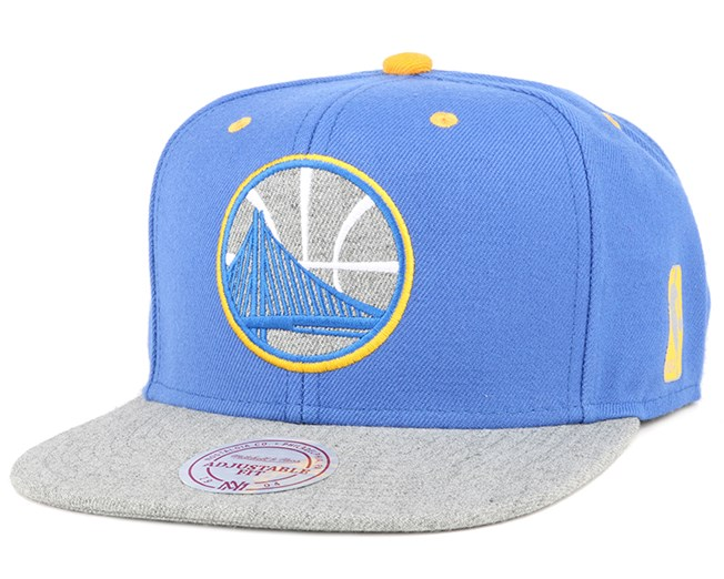 Golden State Warriors Greytist Snapback - Mitchell & Ness