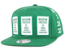 Boston Celtics The 80's NBA Champions Snapback - Mitchell & Ness