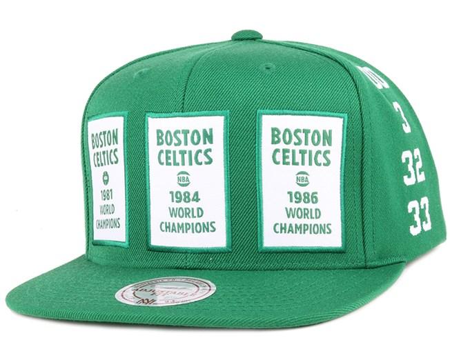 Boston Celtics The 80's NBA Champions Snapback - Mitchell & Ness