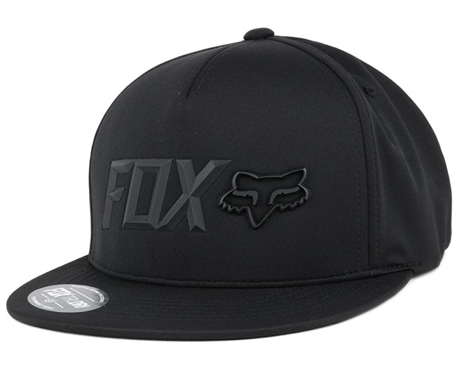 Lampson Black Snapback - Fox
