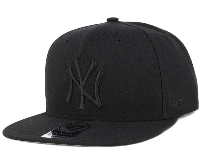 NY Yankees Sure Shot 47 Captain Black Snapback - 47 Brand