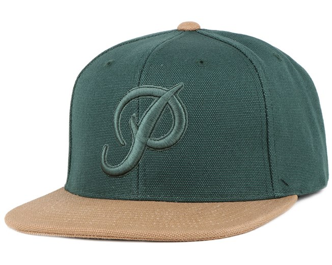 Classic P Canvas Forrest Snapback - Primitive Apparel