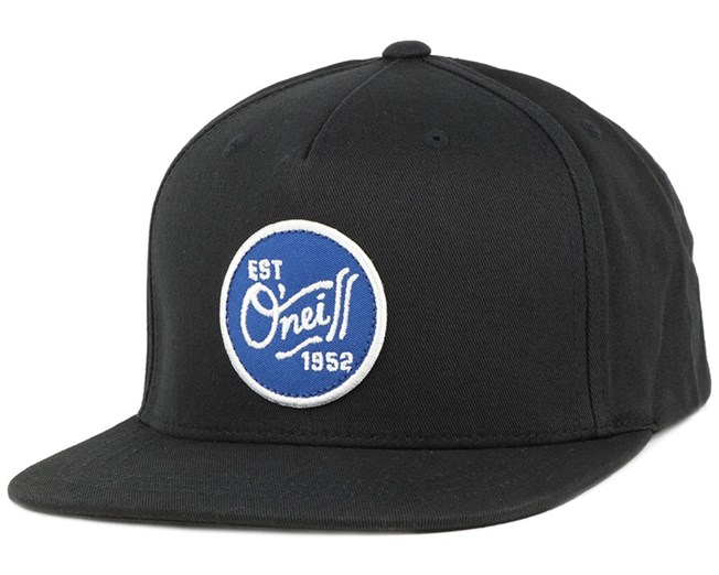 Twin Fin Black Out Snapback - O'Neill