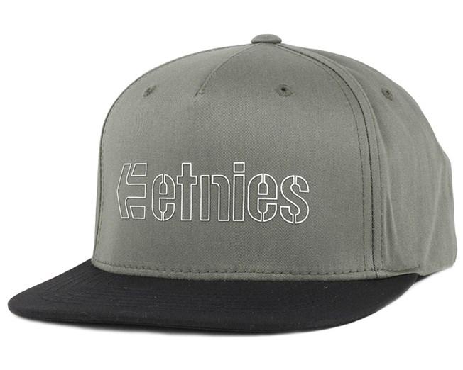 Corporate 5 Army Snapback - Etnies
