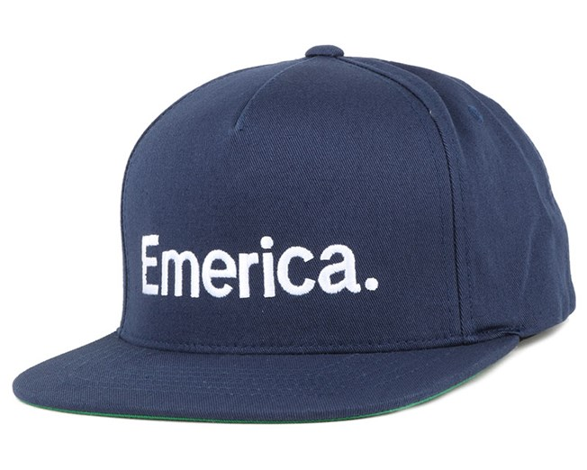 Pure Blue Snapback -Emerica