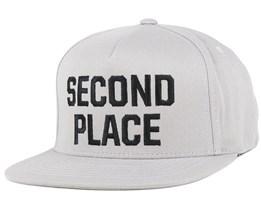 Second Place Grey Snapback - Emerica