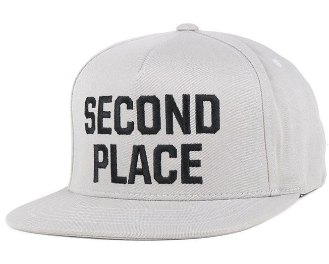 Second Place Grey Snapback - Emerica