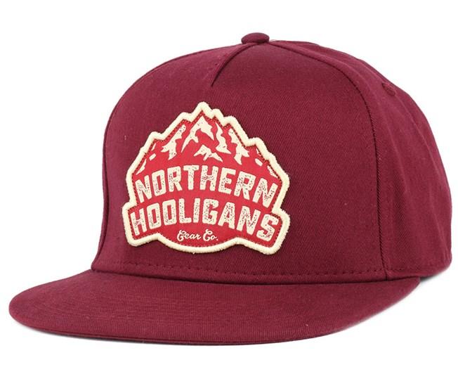 The Gear Co. Maroon Snapback - Northern Hooligans