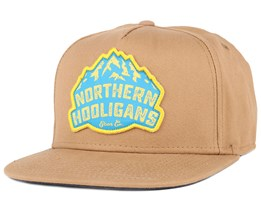 The Gear Co. Dark Khaki Snapback - Northern Hooligans