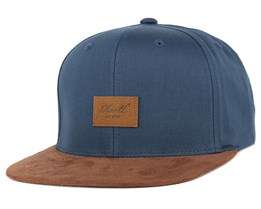 Suede Navy Snapback - Reell