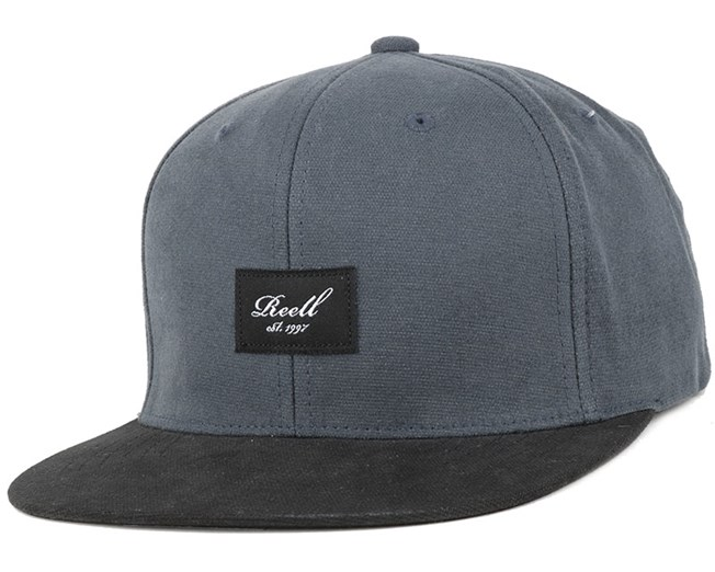 Pitchout Charcoal/Black Snapback - Reell