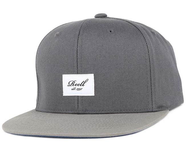 Pitchout Dark Grey/Light Grey Snapback - Reell