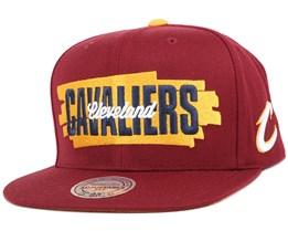 Cleveland Cavaliers Winning Streak Snapback - Mitchell & Ness