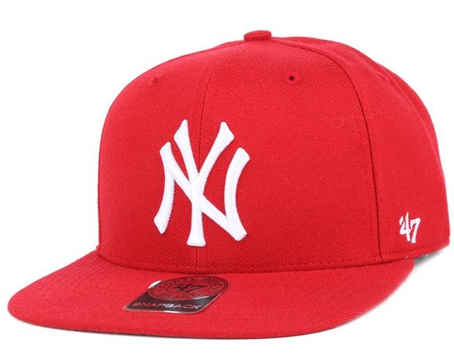 NY Yankees Sure Shot Royal/White Snapback - 47 Brand