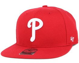 Philadelphia Phillies Sure Shot Royal/White Snapback - 47 Brand