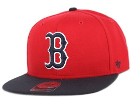 Boston Red Sox Sure Shot 2 Tone Red/Black Snapback - 47 Brand