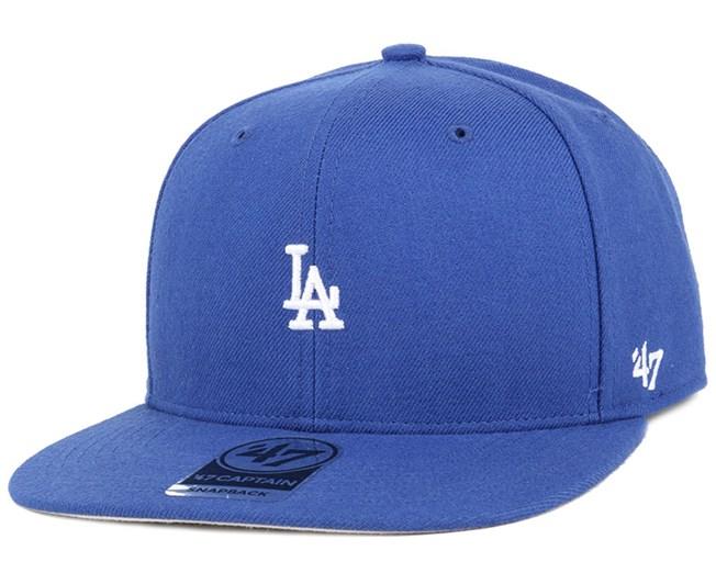 LA Dodgers Centerfield Royal Snapback - 47 Brand
