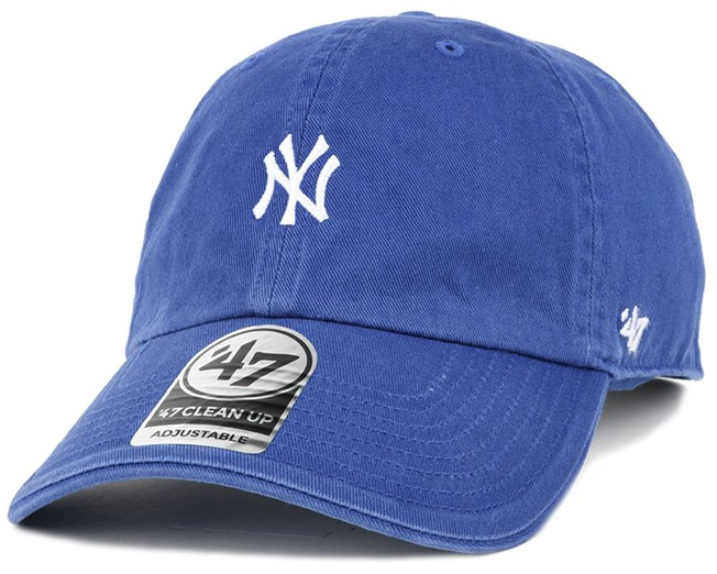 NY Yankees Centerfield Clean Up Royal Adjustable - 47 Brand