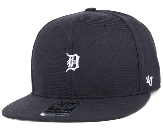 Detroit Tigers Centerfield Captain Navy Snapback - 47 Brand