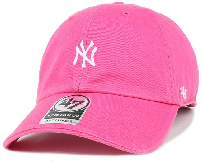 NY Yankees Centerfield Clean Up Magenta Adjustable - 47 Brand