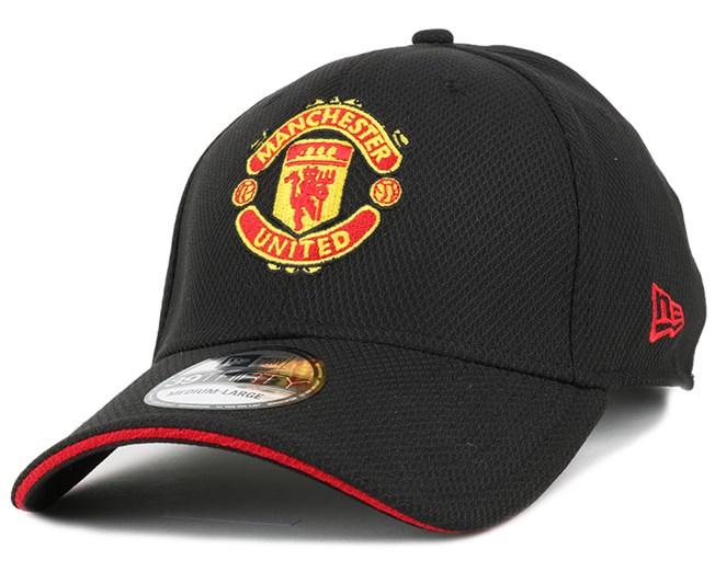 Manchester United Sandwich Black 39Thirty Flexfit - New Era