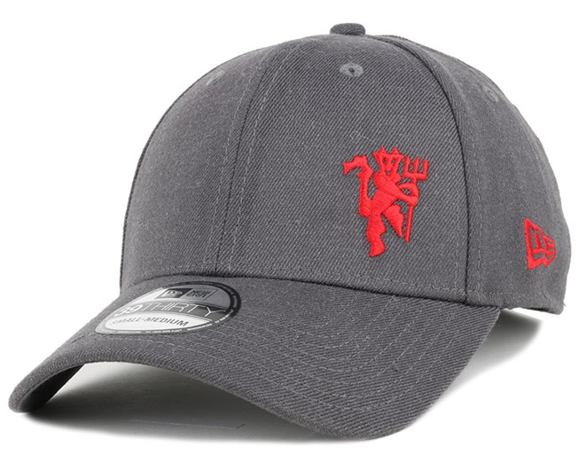 Manchester United Heather Flawless 39Thirty Flexfit - New Era