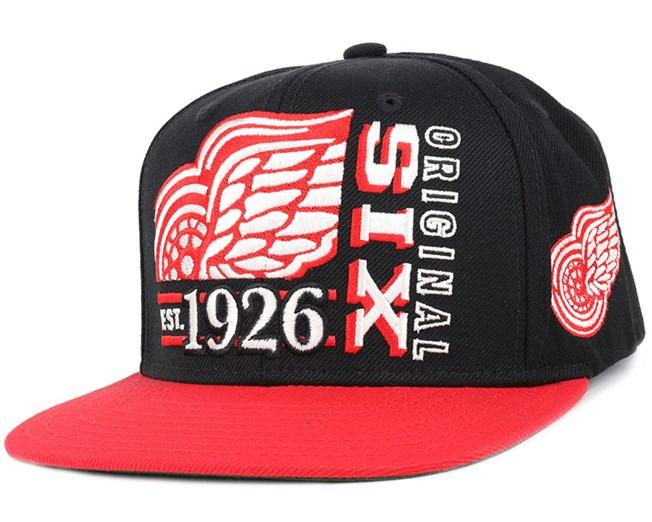 Detroit Red Wings Org 6 Snapback - Reebok