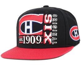 Montreal Canadiens Org 6 Snapback - Reebok