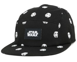 Trooper Pattern Black 5-Panel - Dedicated