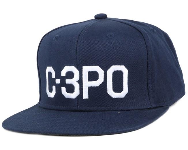 C.3PO Navy Snapback - Dedicated